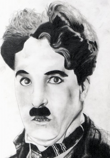 Charlie Chaplin by HeatherFeather